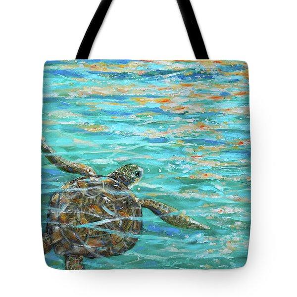 Sea Turtle Dream Tote Bag