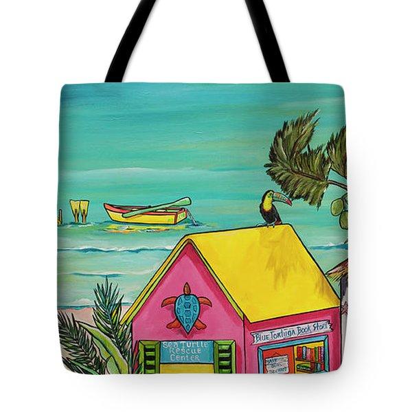 Sea Turtle Rescue Center Tote Bag