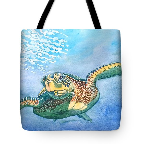 Sea Turtle Series #2 Tote Bag
