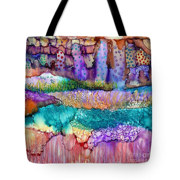 Sea Wall Tote Bag by Alene Sirott-Cope