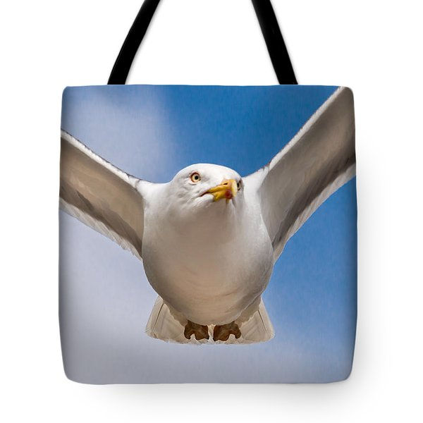 Seabird Closeup Tote Bag