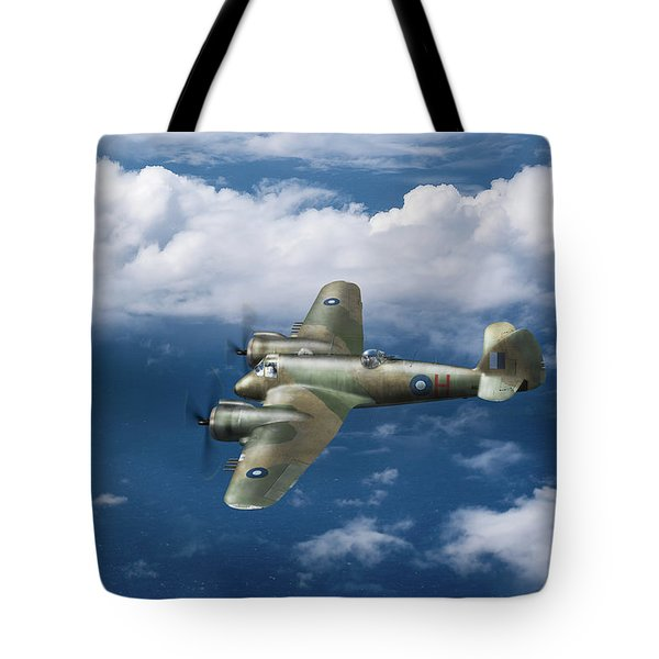 Tote Bag featuring the photograph Seac Beaufighter by Gary Eason