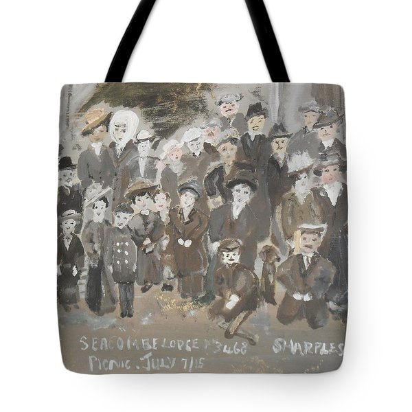 Seacombe Picnic Tote Bag by Judith Desrosiers