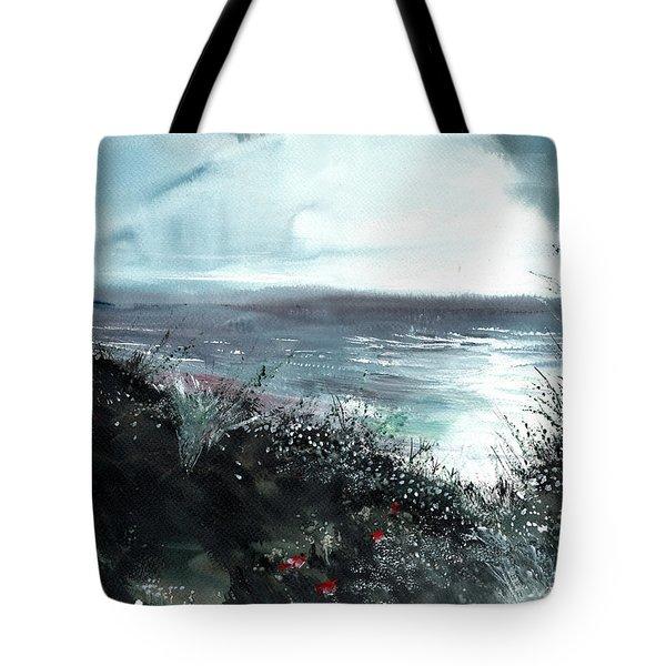 Seaface Tote Bag