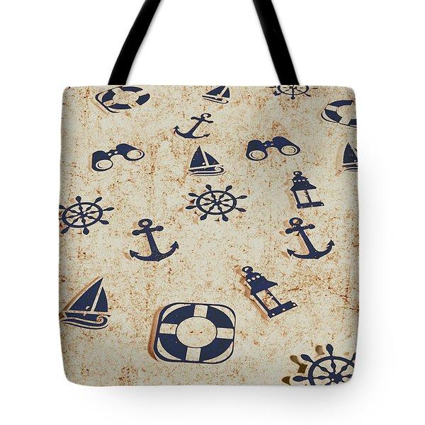 Seafaring Antiques Tote Bag