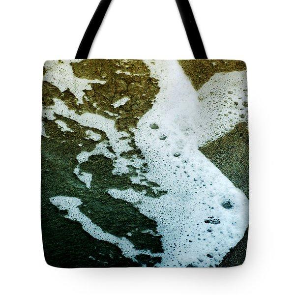 Seafoam Tote Bag by Ellen Heaverlo