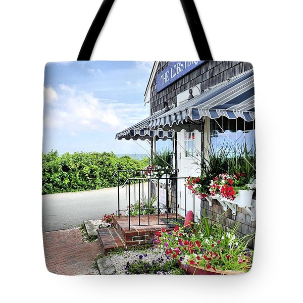 Seafood For Sale Tote Bag