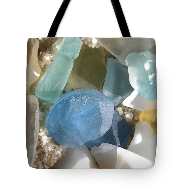 Seaglass Tote Bag by Mary Haber