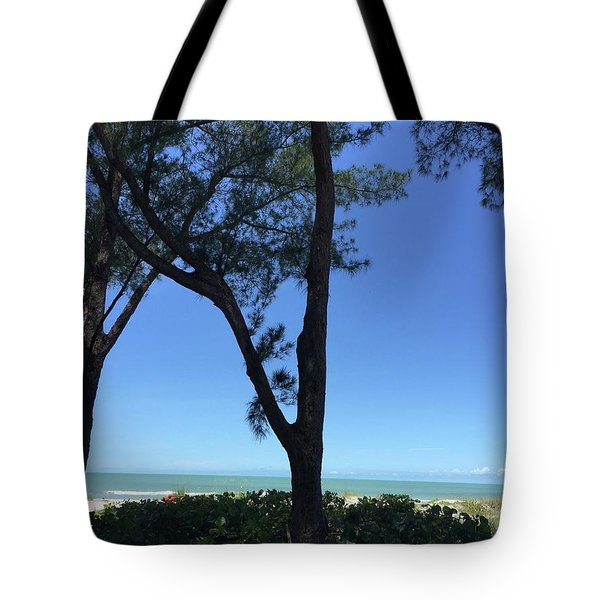 Seagrapes And Pines Tote Bag