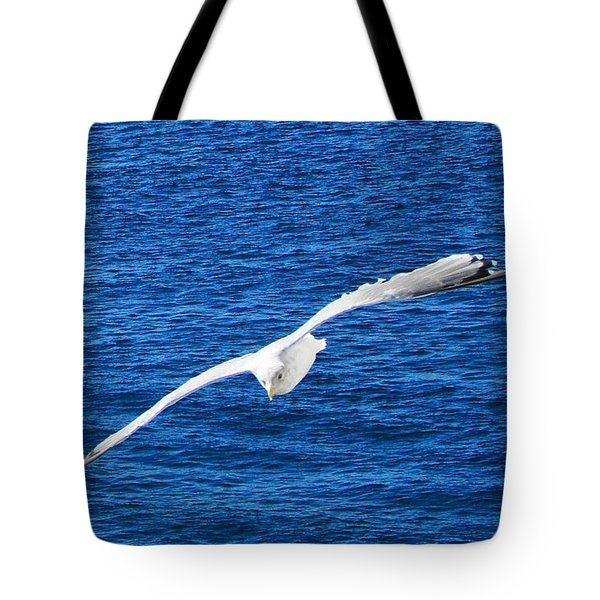 Tote Bag featuring the photograph Seagull 1 by John Hartman