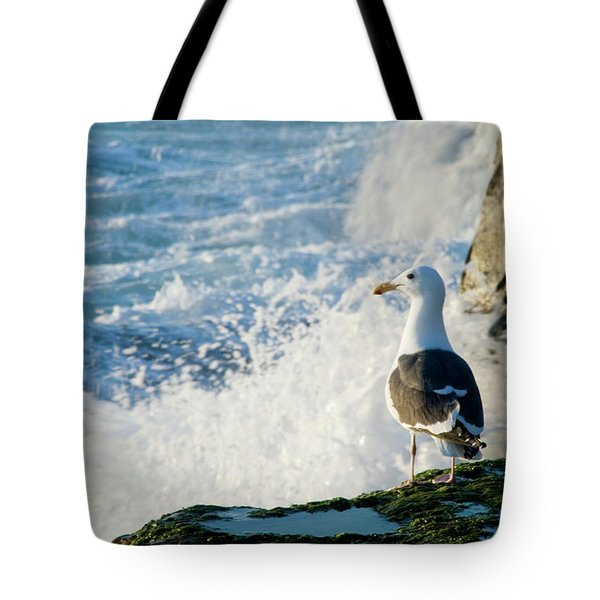 Seagull And The Sea Tote Bag