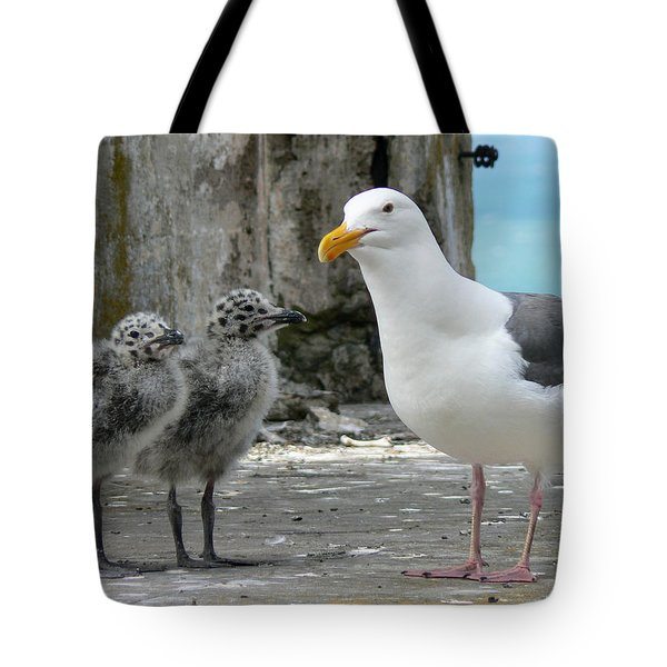 Seagull Family Tote Bag