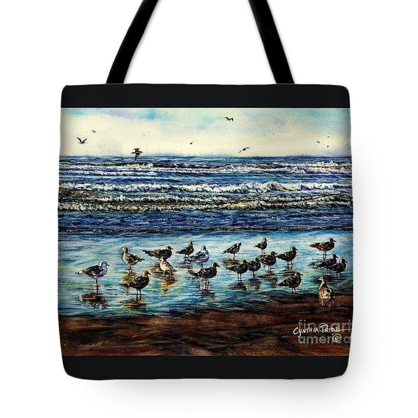 Seagull Get-together Tote Bag