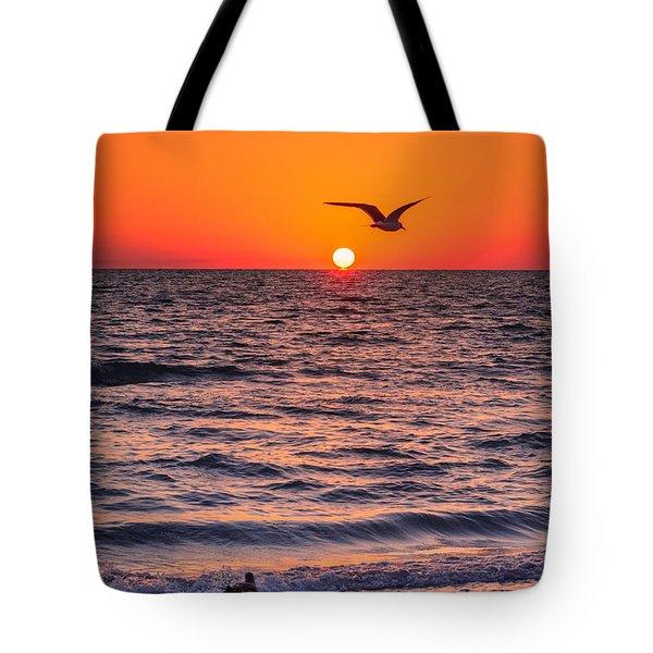 Seagull Hat-trick Tote Bag
