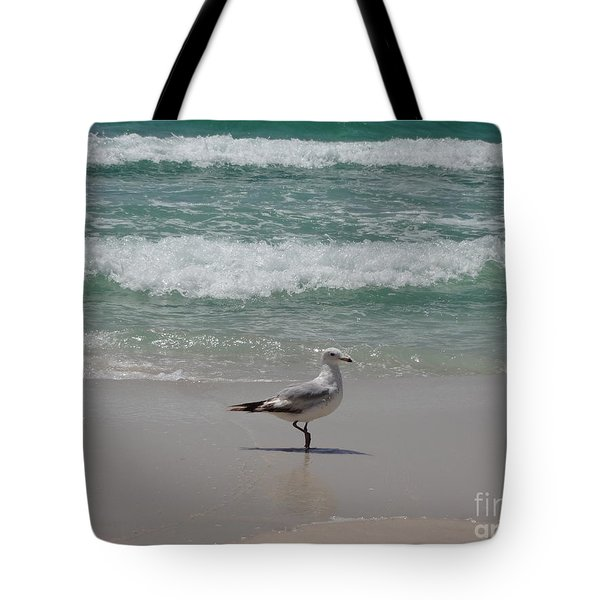 Seagull Tote Bag by Megan Cohen