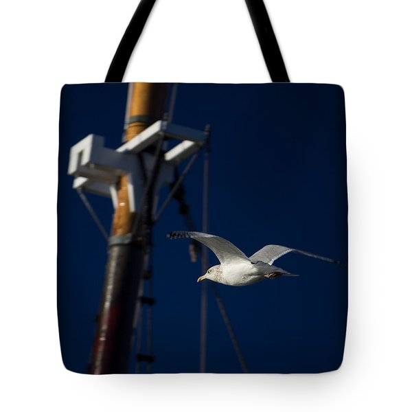 Seagull Of Mystic Ct Tote Bag