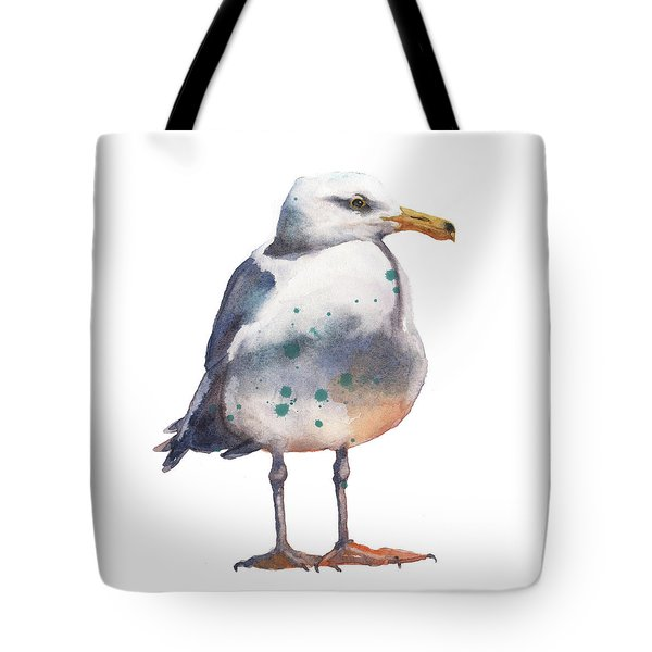 Seagull Print Tote Bag by Alison Fennell
