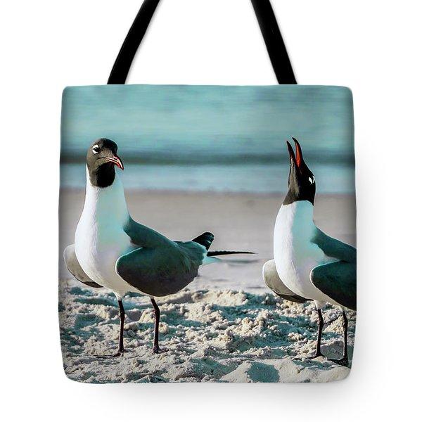 Seagull Serenade 4954 Tote Bag