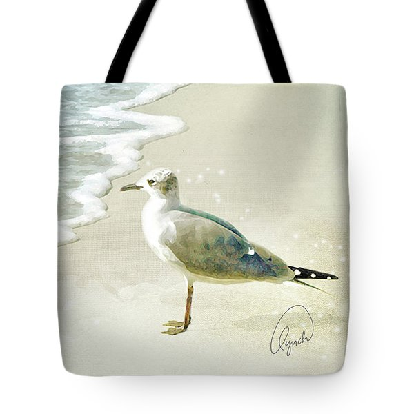 Seagull  Signed Tote Bag