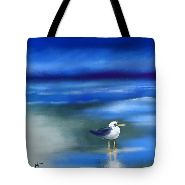 Seagull Standing 2 Tote Bag