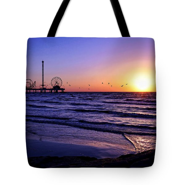 Seagull Sunrise Tote Bag