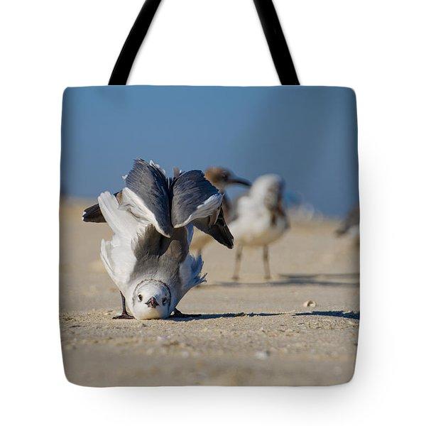 Seagull Yoga Tote Bag
