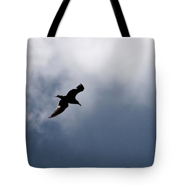 Tote Bag featuring the photograph Seagull's Sky 1 by Jouko Lehto