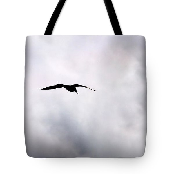 Tote Bag featuring the photograph Seagull's Sky 2 by Jouko Lehto