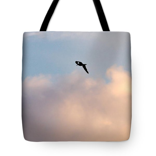 Tote Bag featuring the photograph Seagull's Sky 3 by Jouko Lehto
