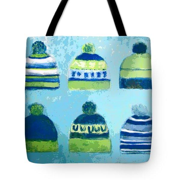 Seahawks Caps Tote Bag