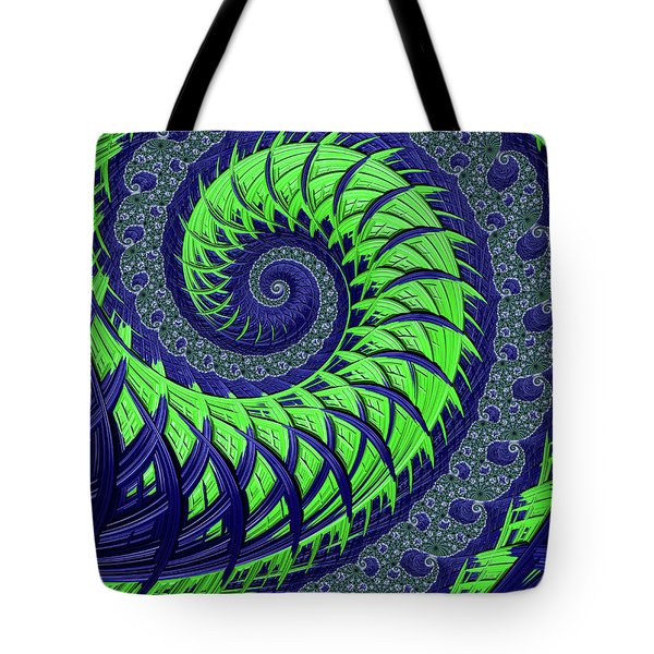 Seahawks Spiral Tote Bag