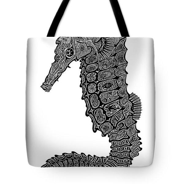 Seahorse Tote Bag by Carol Lynne