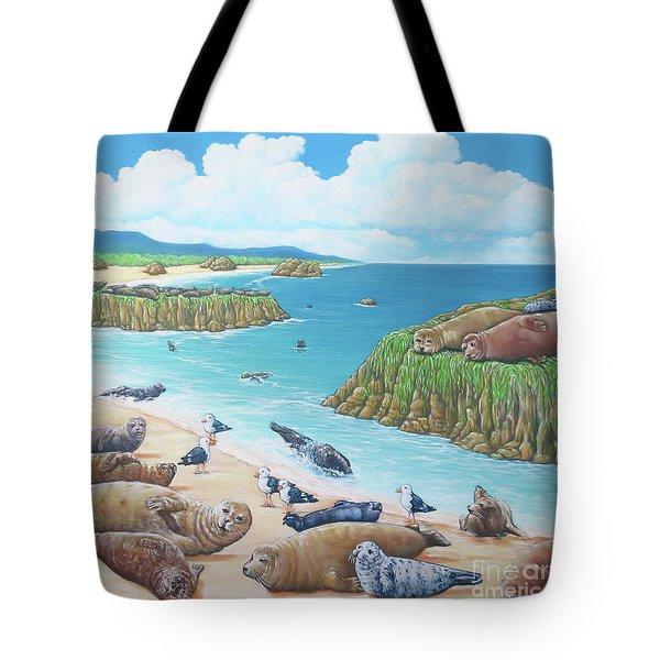 Seal Sanctuary  Tote Bag