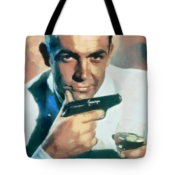 Sean Connery Tote Bag