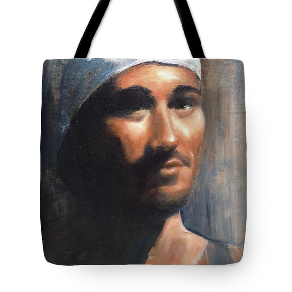 Sean Tote Bag by Diane Daigle