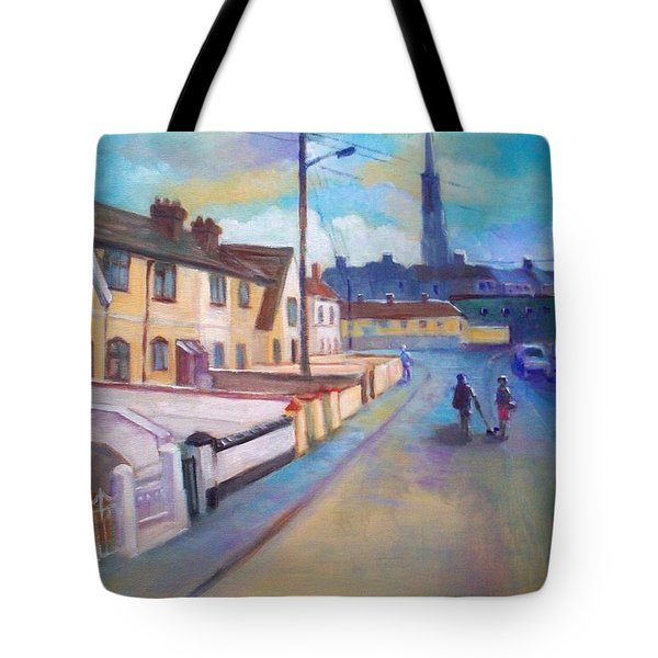 Sean Hueston Place Limerick Ireland Tote Bag
