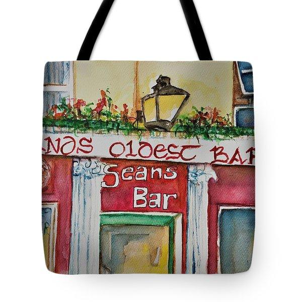 Seans Irish Pub Tote Bag