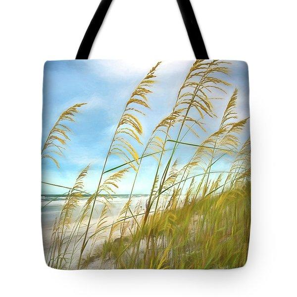 Seaoats Fantasy Tote Bag