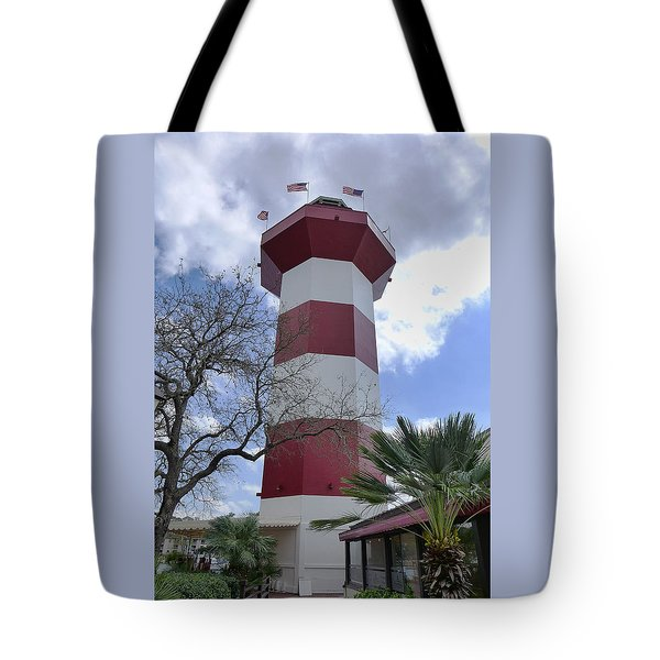 Seapines Lighthouse Tote Bag