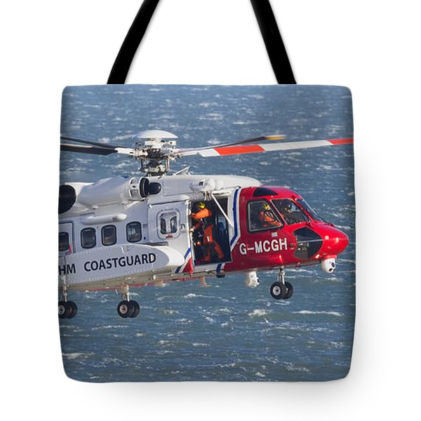 Search And Rescue 2 Tote Bag by David  Hollingworth