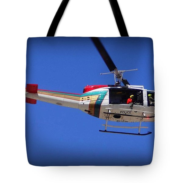 Search And Rescue Mission Tote Bag