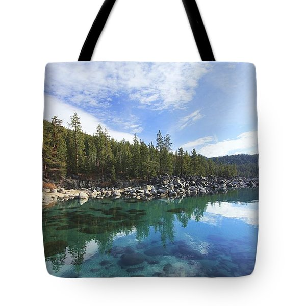 Tote Bag featuring the photograph Search For Depth by Sean Sarsfield