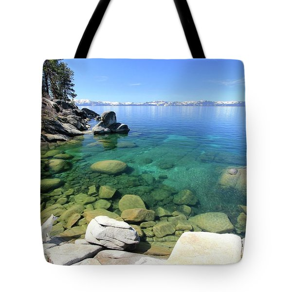 Search Her Depths  Tote Bag