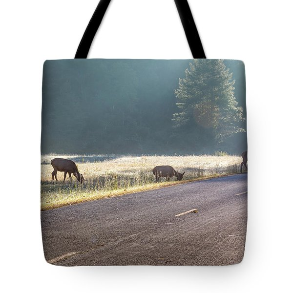 Searching For Greener Grass Tote Bag