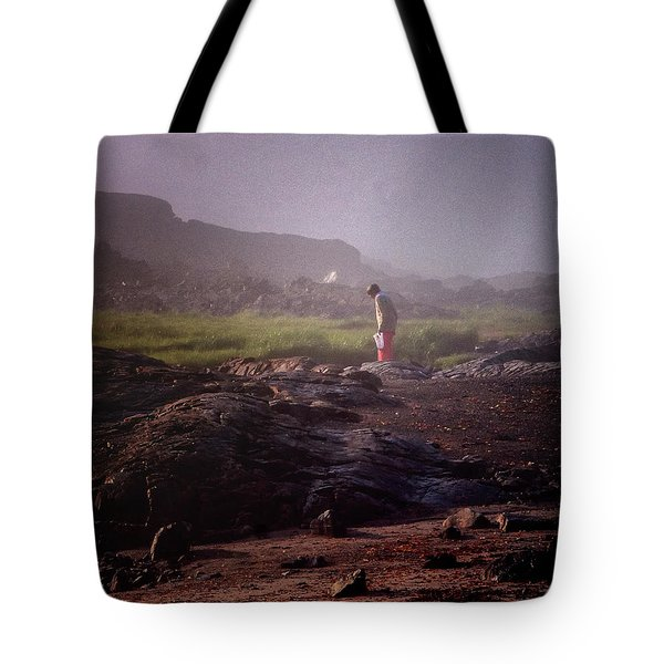 Searching For Shells Tote Bag