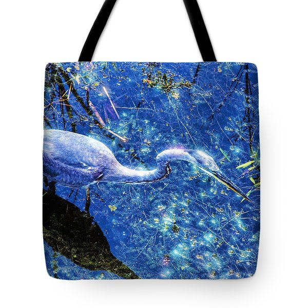 Searching For The Right Gem Tote Bag by Dennis Baswell