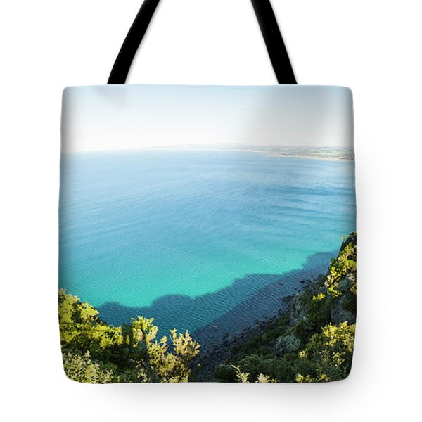 Seas Of Turquoise Blue Tote Bag