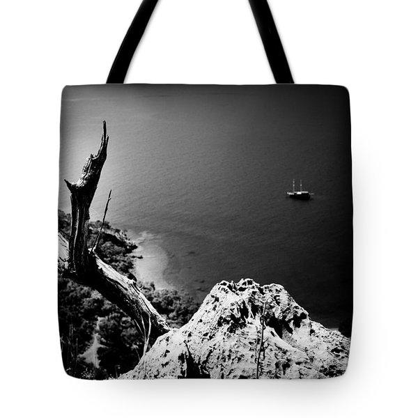 Seascape Artmif.lv Adrasan Tote Bag