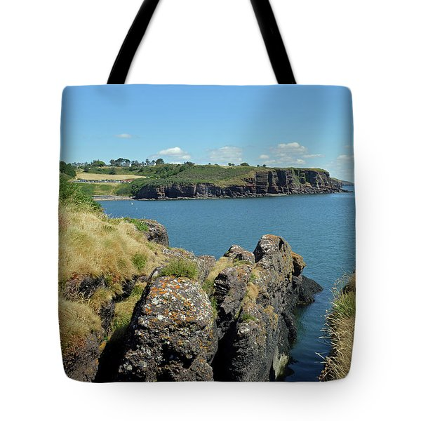Seascape Dunmore East. Tote Bag