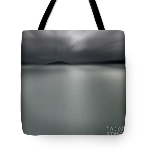 Tote Bag featuring the photograph Seascape Mono by Craig B